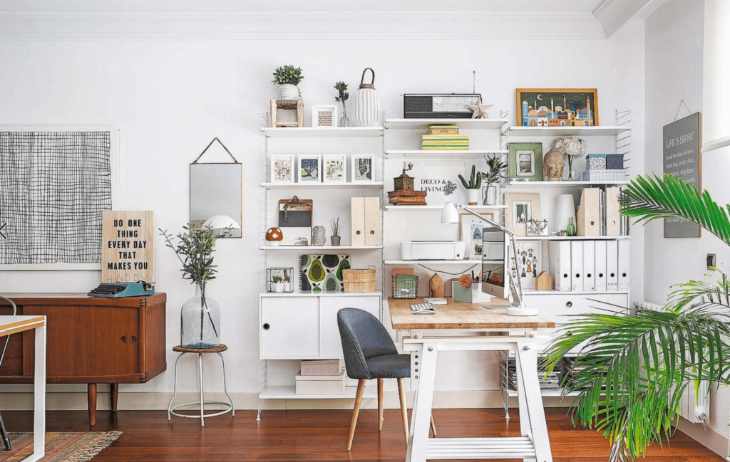 5 Ideas to create an eye-catching home office