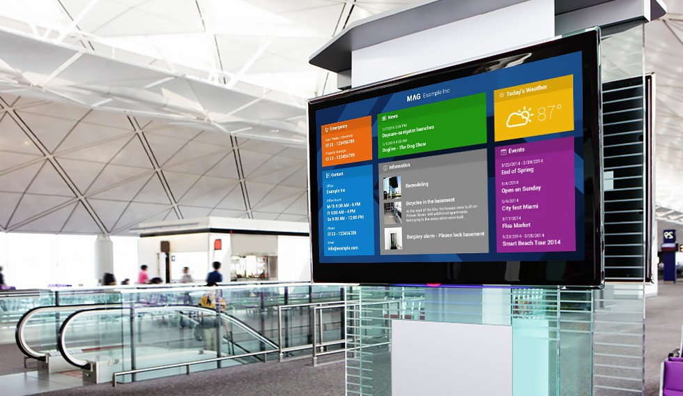 Digital Signage and its 3 Forms