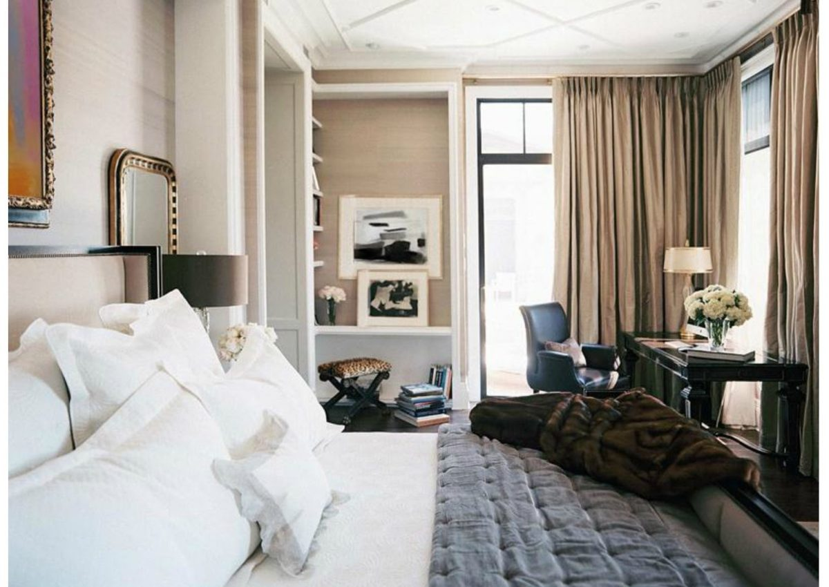 How to create a stylish work area in bedroom