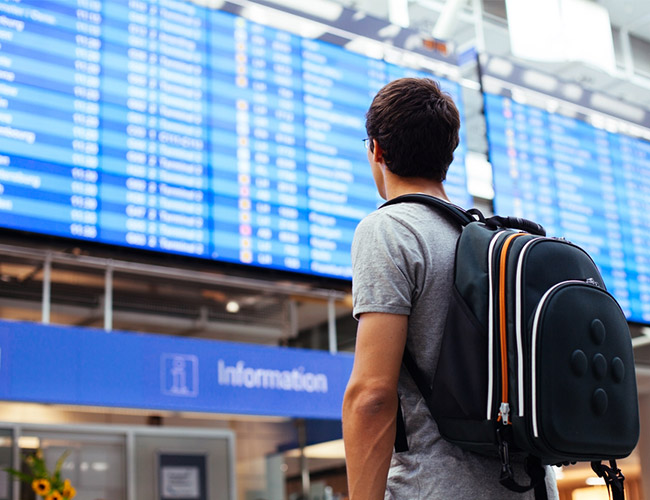 Running late for your flight? Here's what you can do