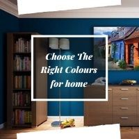 A useful guide to choose the colours for an ideal home