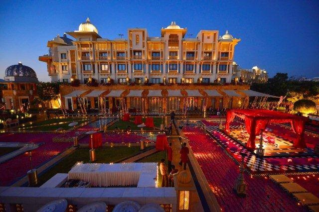 Tie the knot royally at The Leela Palace Udaipur